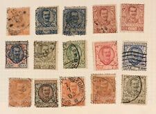 Italy postage stamps lot of 15 old
