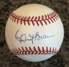 DUSTY BAKER (Cubs, Reds, Nationals, Giants, A's, Giants) single signed ONL Ball