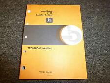 John Deere 710B Backhoe Loader Shop Service Repair Technical Manual TM1286