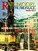 Railmodel Journal March 2007 Prototype Trees, Weathering Freight Cars