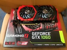 MSI GeForce GTX 1060 Gaming X 6GB DDR5 Graphics Card