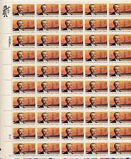 1985 - Frederic A. Bartholdi  -  Mint Sheet  - Scott # 2147 - Pane of 50 - 22¢