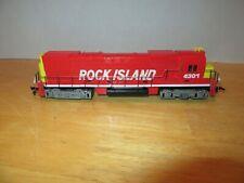 Tyco HO Train Engine Rock Island 4301 Powered Diesel Locomotive