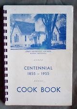 Vintage 1955 Kasson MN First Methodist Church Cookbook Centennial With Ads
