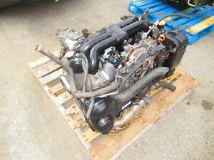 JDM 2008 Subaru Legacy GT Spec B EJ20 Engine 6 Speed Transmission TY856WBDAA WRX
