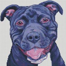 Kit Punto De Cruz Pit Bull Dog 2