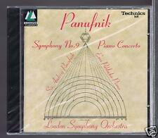 PANUFNIK CD NEW SYMPHONIE 9/ PIANO CONCERTO/ EWA POBLOCKA