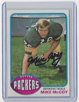 1975 PACKERS Mike McCoy signed card Topps #362 Green Bay AUTO Autographed