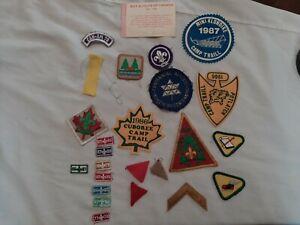 Vintage Canada Boy Scout Patches