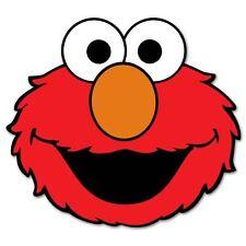 "Elmo Sesame Street Vynil Car Sticker Decal  9"""