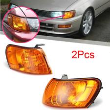 For 1993-1997 Toyota Corolla AE100 AE101 Front Left & Right Parking Corner Light