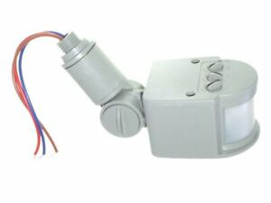 Sensore di movimento fari infrarossi crepuscolare faro faretti 220v grigio