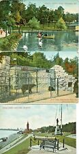 Milwaukee WI Collector's Set: Bear Cage, Spanish Cannon & Soldier's Home Lagoon
