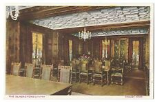 The Blackstone Hotel, Chicago, English Room PPC, Unposted, by Michigan Litho Co
