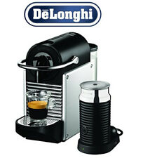 DeLonghi Coffee Machine Pixie with Aeroccino EN 125SAE Silver Gifts Home Present