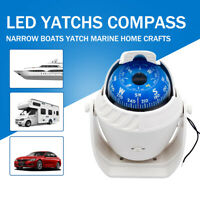 New Car Boat Compass Guide Ball Compass For Travel Outdoor Survival Marine UK