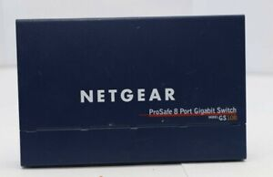 NETGEAR ProSafe 8 Port Gigabit Switch GS108 PR759 08