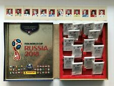 Panini 2018 SWISS GOLD EDITION HARDCOVER + 682 stickers + 12 Coca Cola + BOX