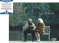 GENA ROWLANDS SIGNED 'THE NOTEBOOK' 8X10 MOVIE PHOTO ACTRESS BECKETT COA BAS