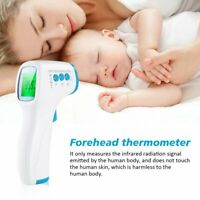 SI Baby / Adult Body LCD Infrared Digital Thermometer Non-Contact Forehead
