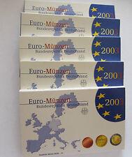 Estuche Oficial Euros Alemania 2003 proof las 5 cecas