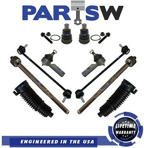 New 10 Pc Complete Front Suspension Kit for Ford Escape Mercury Mariner