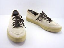 Havaianas Tan Canvas Sneakers Size Womens 11 Mens 9 Lace Up