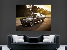 FORD MUSTANG GT500 ART WALL LARGE IMAGE GIANT POSTER !!!!!