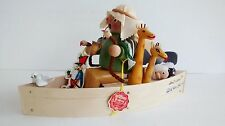 "Steinbach Musical Smoker ""Noah & His Ark"" SIGNED S 759 Original Box - Hang Tag"