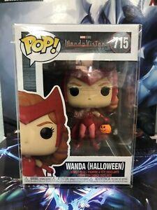Funko POP! Marvel Wanda Vision WANDA Halloween Figure #715 w/ Protector