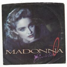 Madonna-Sire 28717 Promo Pop Rock 45 Rpm W/Ps Live To Tell 45 M- Ps Vg+