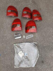 Konvolut Rückleuchte Rücklicht links/rechts Opel Corsa B , Teile Tachowelle