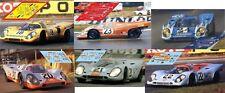Decals Porsche 917k 917 k Le Mans 1970  1:32 1:24 1:43 1:18 slot calcas