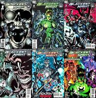 Blackest Night #1-6 (2009-2010) DC Comics - 6 Comics