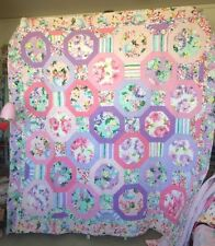 Handmade Floral Patchwork Quilts