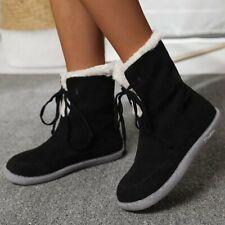 Autumn Winter Women Snow Boots Plush Inside Outwear Shoes Low-top Ankle Boots