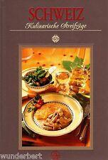*- Kulinarische STREIFZÜGE - SCHWEIZ - Peter WIDMER/Alexander CHRIST  HC