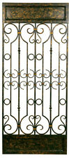 2408 - Scrolled Metal Decorative Wall Panel