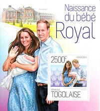 Togo 2013 MNH Birth Prince George Royal Baby 1v S/S William Naissance Bebe