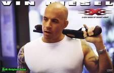 Movie Poster~xXx Vin Diesel 2002 Solo Film Sheet Xander Cage Gun Asia Argento~31
