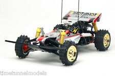 Tamiya 58517 Super Genios (Super Shot) RC Kit-deal paquete con steerwheel Radio