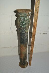 Antique Decorative Cast Iron Stool Base Stands Industrial Table Ornate Pedestal