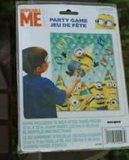 MINIONS DESPICABLE ME 2 BIRTHDAY PARTY GAME