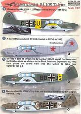 Print Scale Decals 1/72 MESSERSCHMITT Bf-108 TAIFUN
