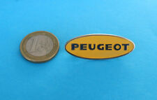 PEUGEOT - nice old large pin badge * French car