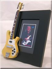 CHRIS SQUIRE Miniature Bass Picture Frame Rickenbacker YES