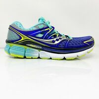 Saucony Womens Triumph ISO S10262-1 Blue Running Shoes Lace Up Low Top Size 8