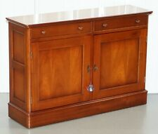 LOVELY SMALL SOLID CHERRY WOOD OFFICE SIDEBOARD WITH DRAWERS PART OF LARGE SUITE