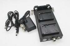 Battery Power Supply System NP-F970 / F550 Mount For LP-E6 EOS 5D2 5D3 60D 6D
