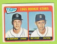 1965 Topps - Detroit Tigers Rookie Stars (#259)  Jim Northrup & Ray Oyler